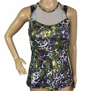 Lululemon Mesh Panels Straps Activewear Tank Top